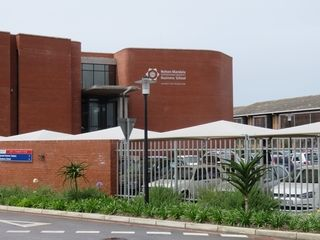 landscaping entrance planters nmmu
